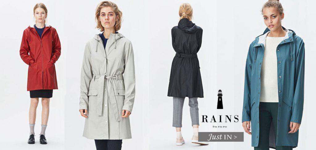 Rains coats danish rainwear