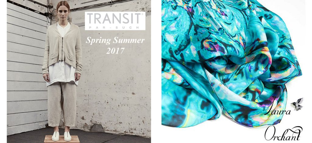 Transit Par Such & Laura Orchant Spring Summer 2017 Collection Blog