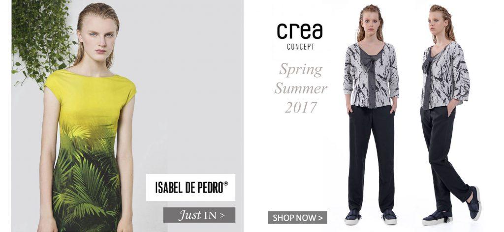 Isabel de Pedro & Crea Concept Spring Summer 2017 Collection Blog
