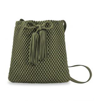 Tissa Fontaneda Capri Green Shoulder Bag