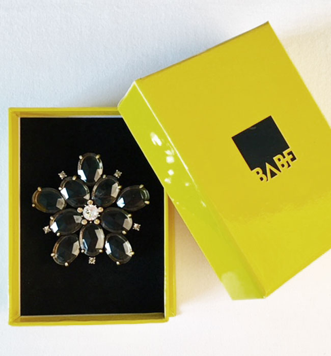 Babe Brooch B Diamond B73