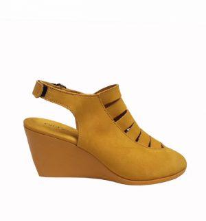 Arche Egzy Nubuck Wedge Sandal