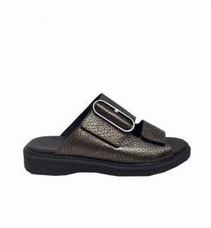 Arche Jansen Gold & Black Sandal