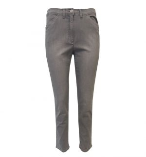 Brax Mary S Jean Trousers in Light Grey 78-6157/54