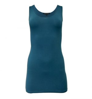 Randez Vous Basic Camisole in Blue Green Tulipe 3/0