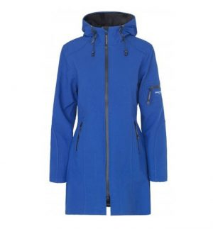 Ilse Jacobsen 3/4 Raincoat blue web