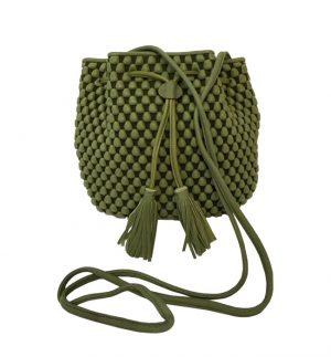 Tissa Fontaneda Panarea Bag in Khaki B50