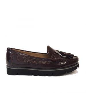Lisa Kay Enid Bordeau Patent Loafer