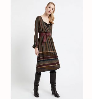 ottod'Ame Var Unica Tidy Dress DA3307-1620