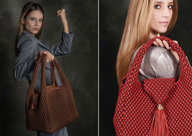 Tissa Fontaneda Nappa Bubble Bags Brand image