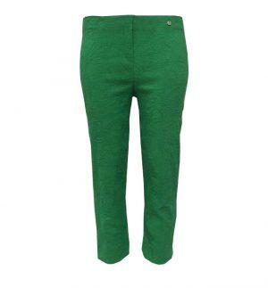 Robell Crop Brocade Jacquard Trouser, Marie 07