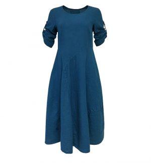 Grizas Petrol blue Maxi Dress 91126-L5/156
