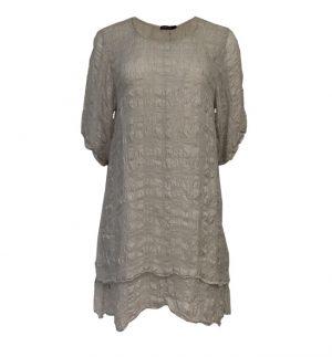 Stone Silk Layered Tunic