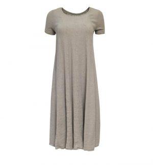Stone Linen Dress