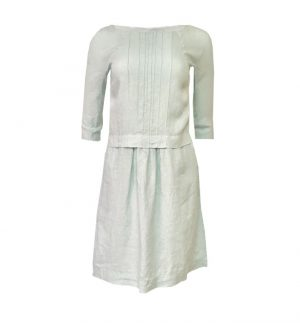 Rosso35 Linen Pinafore Style Dress