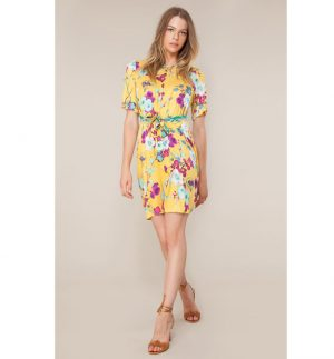 Hale Bob Assumpta Belted Dress