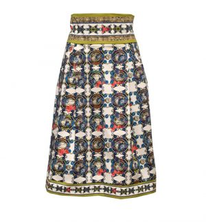 Isabel Giotto Jazz Ondafellini Skirt in Multicolour Print TG883/281173