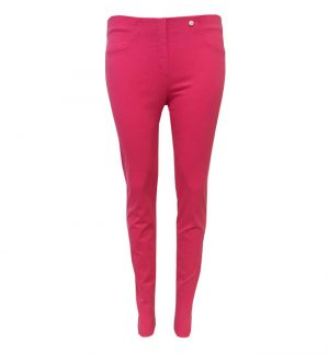 Robell Bella Slim Fit Jeggings in Hot Pink 51580/431