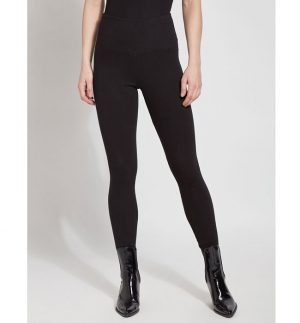 Lysse Denim Legging Black