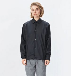 Rains Coach Jacket in Black