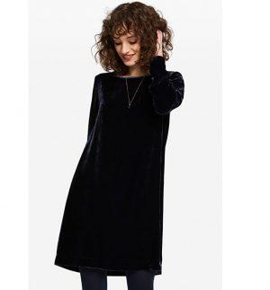 ottod'Ame Midnight Velvet Mini Dress