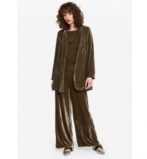 ottod'Ame Oversized Velvet Jacket