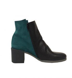 Angaya Green & Black Boot