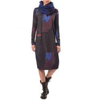 Crea Concept Abstract Midi Dress