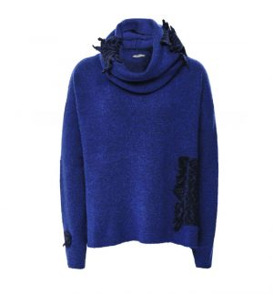 Crea Concept Knitted Jumper with Snood
