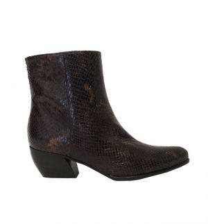 C.Doux Diamant Snake Ankle Boot Multi c/420/41878
