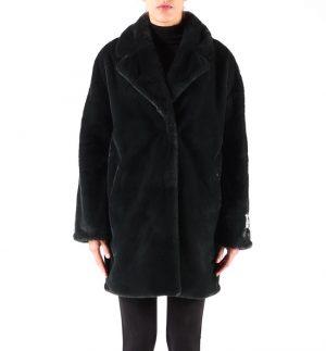 Rino & Pelle Joella Coat Green Faux Fur