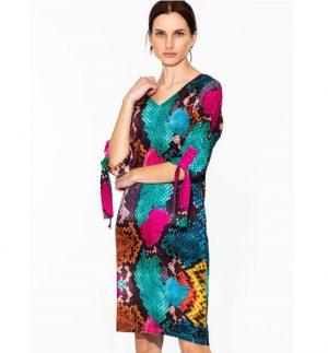 Vilagallo Lottie Dress KA Print