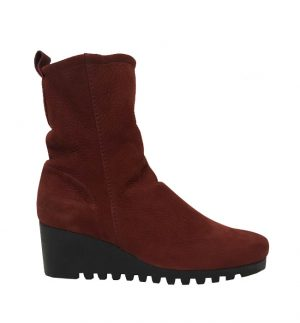 Arche Larazo Suede Wedge Boots