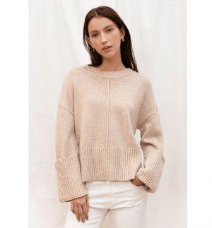 Charli Lynx Sweater Camel