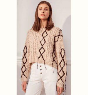 Charli Lexus Sweater Camel