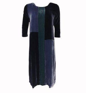 Bianco Levrin Cornelia Velvet Patchwork Midi Dress TS363