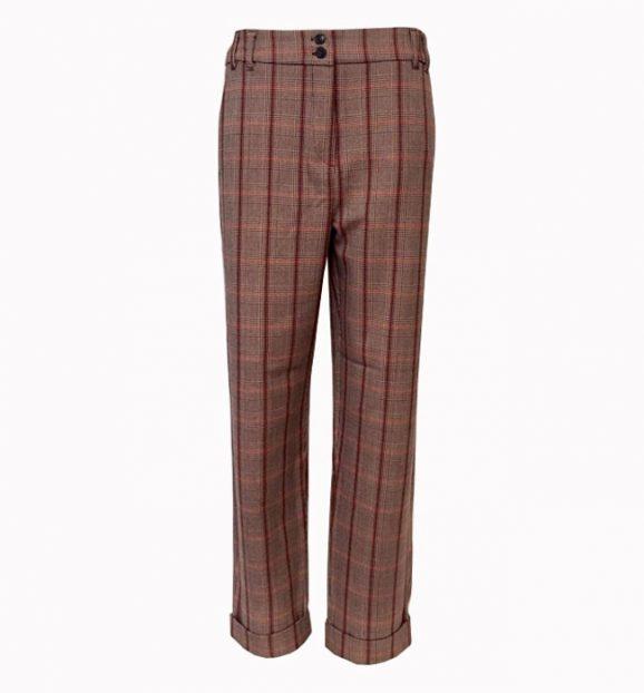 Emme Marella Cappa Check Trousers 51360598/002