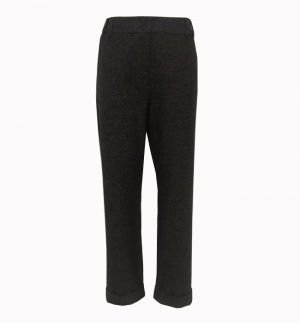 Emme Marella Cappa Ale Trousers in Anthracite 51360598/001