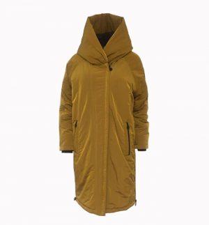 Creenstone Delilah Puffer Coat in Mustard CS09.60.193