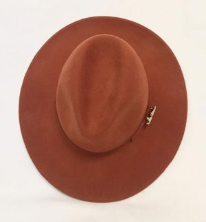 Feelkoo Hat in Rusty-Bronze Colour 6679 ROUILLE