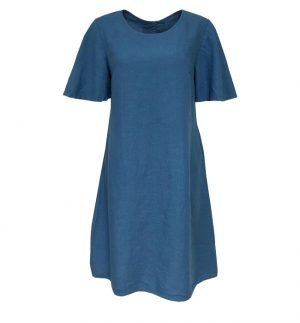 Grizas A-shape Linen Maxi Dress 91309-L5/183