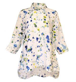 Grizas Oversized Shirt in Multicolour Splash 51686-L12P1231/O