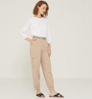 Yerse Baggy Cargo Trousers