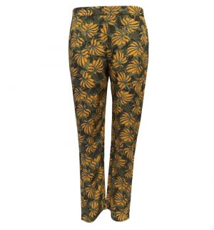 Yerse Floral Slim Trousers