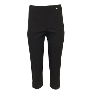 Robell Marie 07 Crop Trouser Black