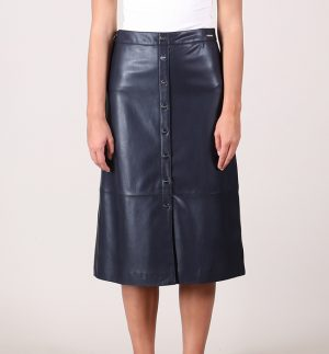 Rino & Pelle Calica Faux Leather Skirt