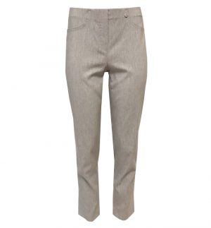 Robell Bella 09 Light Grey Cropped Trousers 52548/54548/93