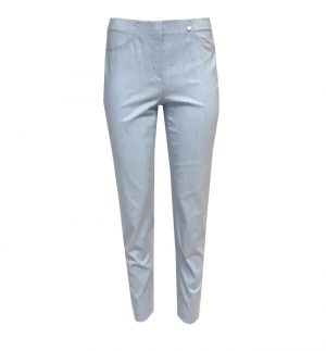 Robell Bella 09 Baby Blue Cropped Trousers 52548/54542/61