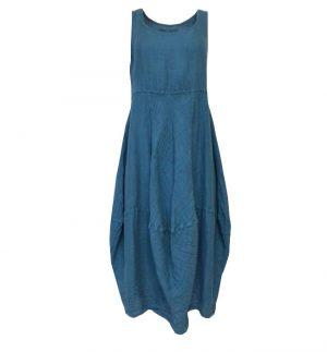 Grizas Balloon Dress in Light Blue 9410-L230/183