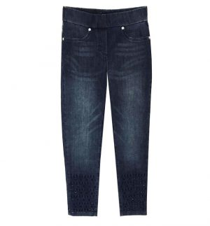 Robell Jeans Rose 09 in Washed Cropped Jeans 51482/69